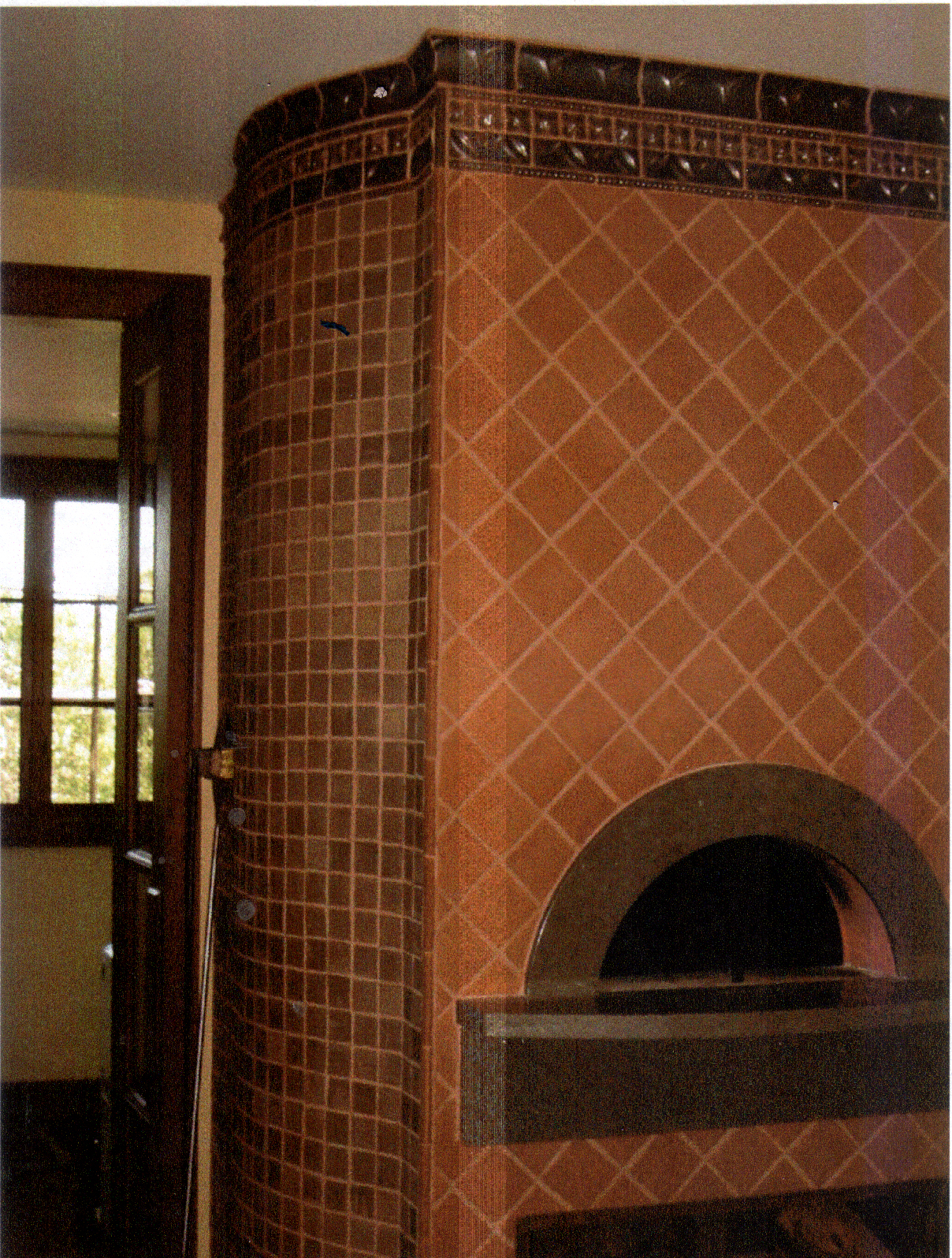18. Pizza Oven - Gothic Tile