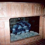 French Figure Fireplace