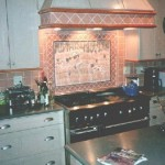 Brittany Spaniel Backsplash